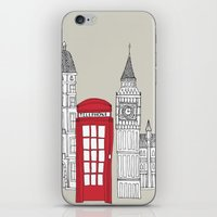 London Red Telephone Box iPhone & iPod Skin