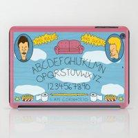 Beavis and Ouija Board iPad Case