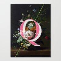 Letter Q Canvas Print