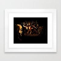 The Last Stand! Framed Art Print