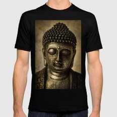 Meditation Mens Fitted Tee Black SMALL