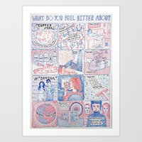 What Do You Feel Bitter About  Art Print
