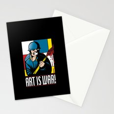 Art is War! Stationery Cards