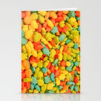 Candy Fish Stationery Cards