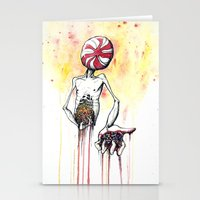 Prescriptions Like Candy Stationery Cards