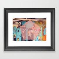Mumbai Framed Art Print