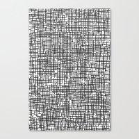 Crosshatch Canvas Print