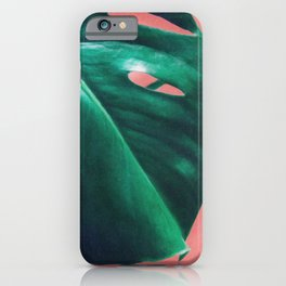 iPhone & iPod Case - MONSTERA #2 - LEEMO