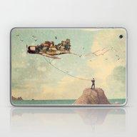City Kite Afternoon Laptop & iPad Skin
