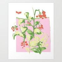 Ma's Tomatoes Art Print