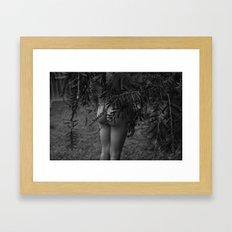 but, Framed Art Print