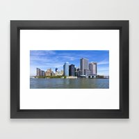 Downtown NY Framed Art Print