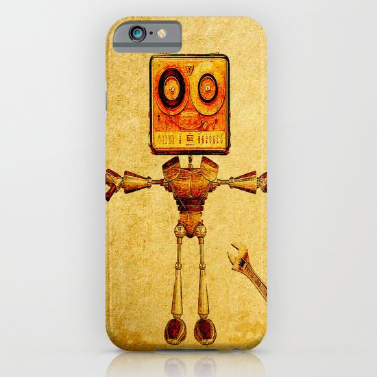 Repair of the robot iPhone & iPod Case