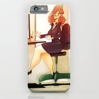iPhone & iPod Case featuring Secretary by animatorlu