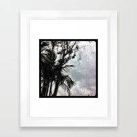 Rain. Framed Art Print
