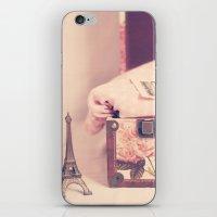 Eiffel Love iPhone & iPod Skin