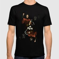 King of Scissors Mens Fitted Tee Black SMALL