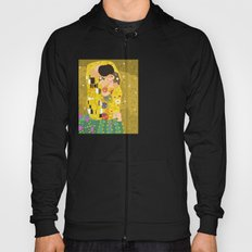The Kiss (Lovers) by Gustav Klimt  Hoody