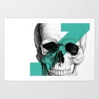skull7 Art Print