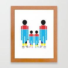 Familly Framed Art Print