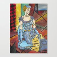 Madam Abstract Canvas Print