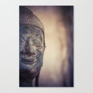 Buddha In Haw Phra Kaew,… Canvas Print