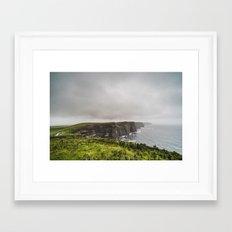 The Cliffs of Moher Framed Art Print