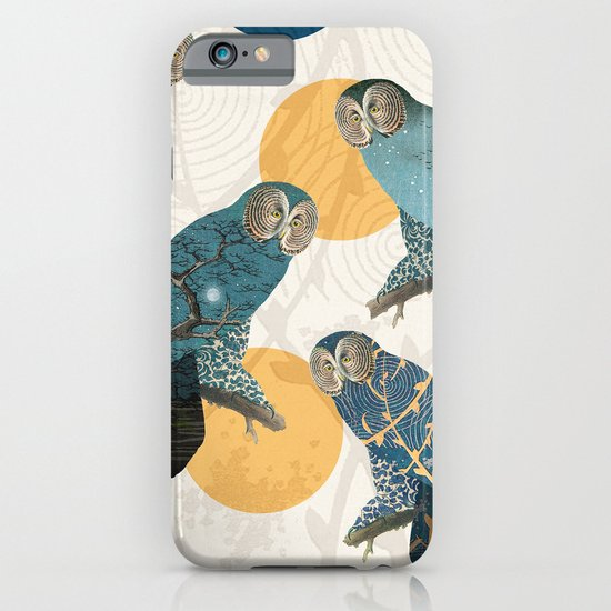 Night Owl Polka iPhone & iPod Case