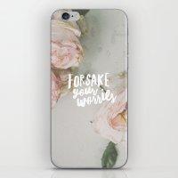 Forsake Your Worries iPhone & iPod Skin
