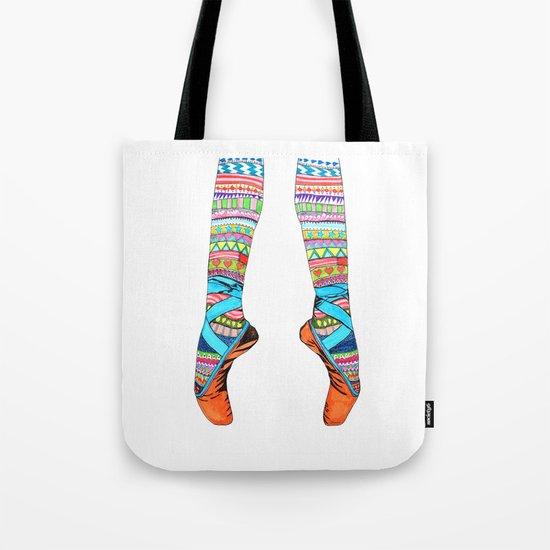 Happy Ballet Tote Bag