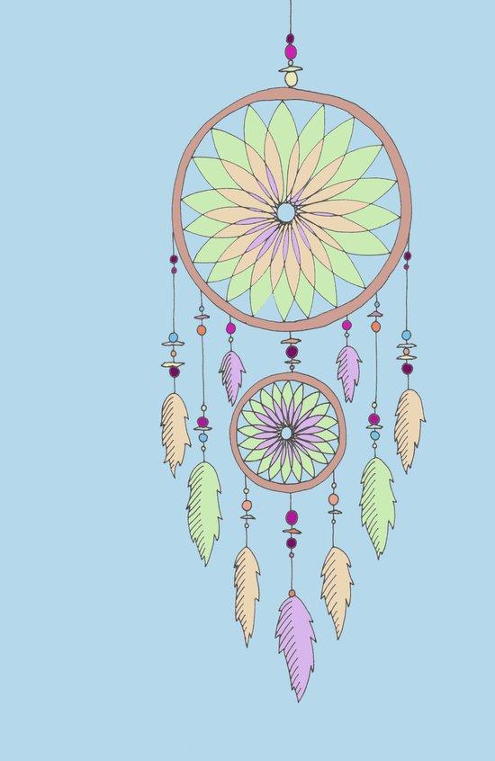DREAM CATCHER V.2 Art Print