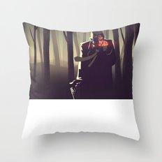 Sin City woods Throw Pillow