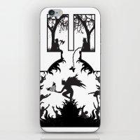 Star Crossed Inferno iPhone & iPod Skin