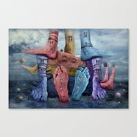 Another World 9 Canvas Print