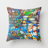 Fimbis (Goldberg Variati… Throw Pillow