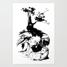The Nighthorrors Art Print