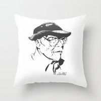 Old Swagger Throw Pillow