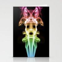 Smoke Photography #20 Stationery Cards