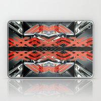 Modern abstract metal Laptop & iPad Skin