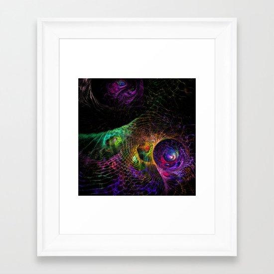 Enmeshed Framed Art Print