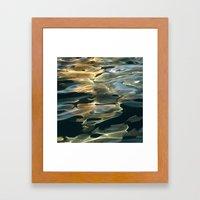 Water / H2O #42 Framed Art Print