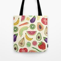 Froot and Veg Tote Bag