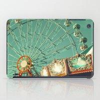 No Cars Go, Ferris Wheel and Carousel iPad Case