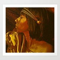 Egyptian Princess Art Print