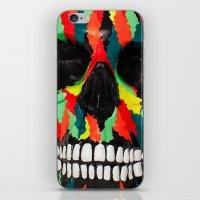 Upoko Skull iPhone & iPod Skin