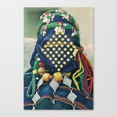 Dotted Tribe Canvas Print