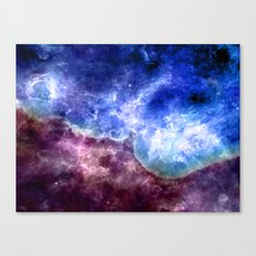 Wave of Neptune Canvas Print