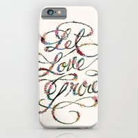 iPhone & iPod Case featuring Let Love Grow by Kailah O.