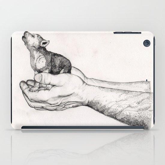 Wolf Cub // Graphite iPad Case