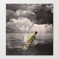 Johnny VS Tornado Canvas Print